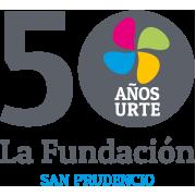logotipo del 50 aniversario de la fundacion san prudencio