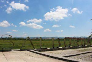 campo de vuelo festival de globo Vitoria-Gasteiz