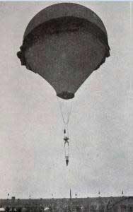 Milá en un festival de globos aerostáticos