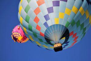 volar en globo en Vitoria