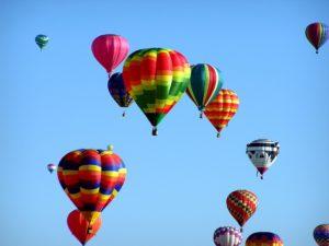 volar en globo Vitoria