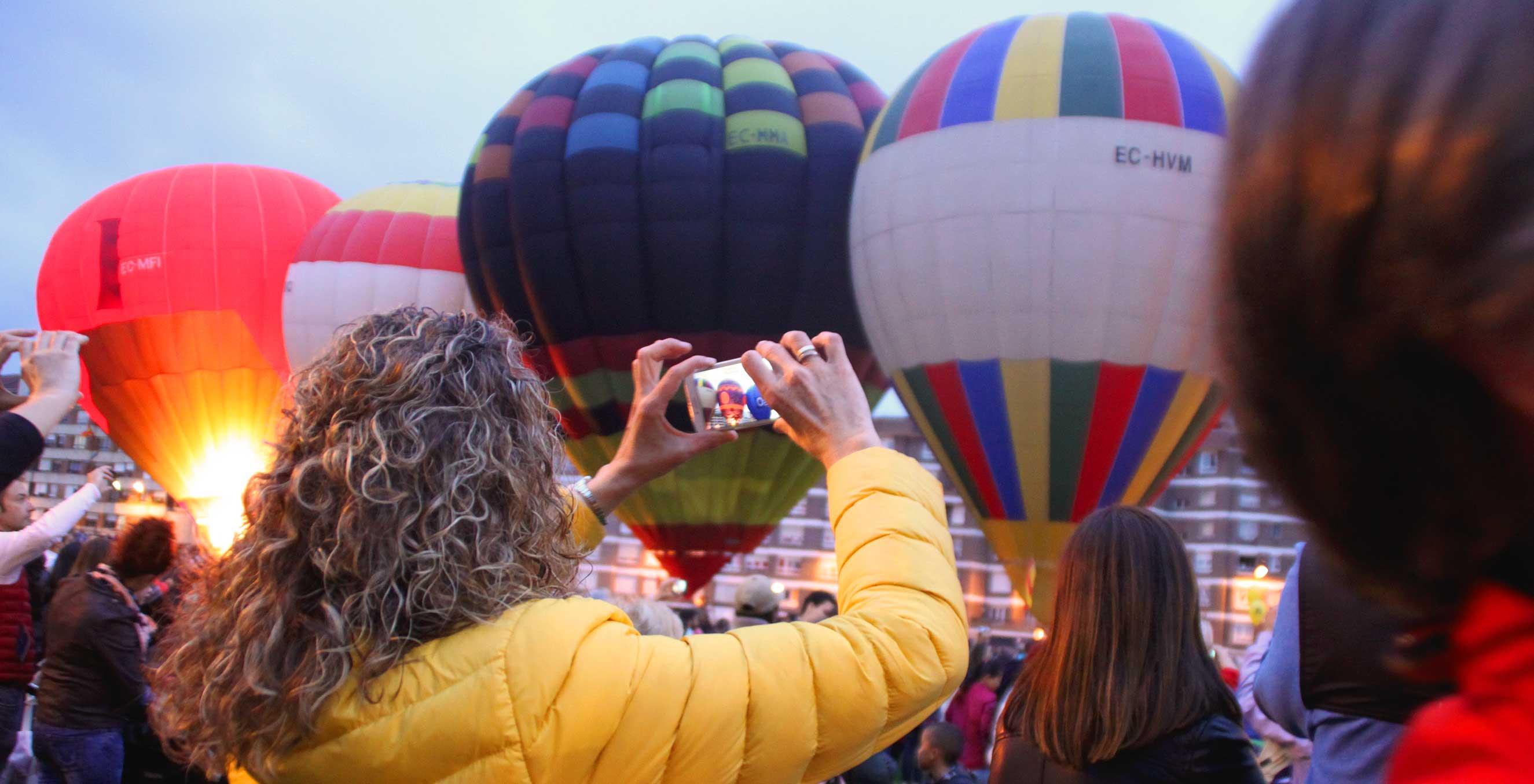 Festival globos aerostáticos