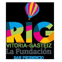 logotipo de la regata internacional de globos de vitoria gasteiz